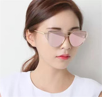 square punch - New gentle monsters classic trend sunglasses ladies brand metal personality designer sun cat style frame style love punch