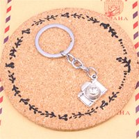 Wholesale camera chain jewelry for sale - Keychain camera Pendants DIY Men Jewelry Car Key Chain Ring Holder Souvenir For Gift
