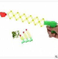 Wholesale Toy Fist Gun - Hot Sale Stretch Scaling Fist Gun Magic Pistol Funny Toys Telescopic Boom Kids Prank Toys Plastic Gun Stretch Elastic Gun