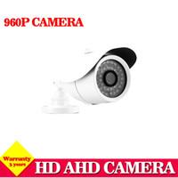 Wholesale Ccd Camera Bracket - Hot,HD Analog 960P AHD camera CCTV AHD-M L 960p Waterproof cameras of security 36LED 3.6mm Lens,IR-CUT, 3DNR, Sense-up, bracket