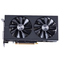 Wholesale Graphics Cards Ati - NEW Arrival Sapphire Radeon OC RX 580 video card RX580 4G DDR5 graphics card DirectX12 2304SP Better than RX570 GTX1060