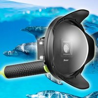 Wholesale SHOOT inch Dome Port for Xiaomi Xiaoyi K waterproof for Eliminate refraction Half underwater photography