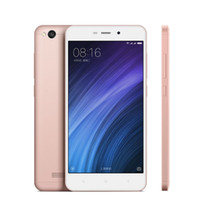 Wholesale Dual Sim Pink - 4G LTE Xiaomi Redmi 4A 2GB 16GB 64-Bit Quad Core Qualcomm Snapdragon 425 Android 6.0 5.0 inch IPS 1280*720 HD OTG GPS 13MP Camera Smartphone