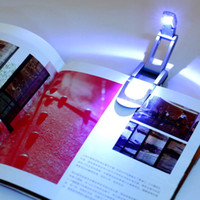 Wholesale flexible readers for sale - Group buy Black Flexible Folding LED Clip on Reading Book Light Lamp for Reader Kindle stylish ZJ0224
