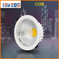 outdoor recessed led downlight - cob led downlight high power w w w dimmable led down lights recessed lamps angle ac v