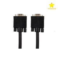 Wholesale 3d Hdtv Led - VGA Cable 1.5M 5FT 3+4 Male to VGA Male Converter Gold-plated Adapter for DVD LED HDTV 3D