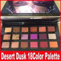 Wholesale Cheap Matte Makeup - New DESERT DUSK Eyeshadow 18 colors Palette Shimmer Matte Eye shadow Pro Eyes Makeup Cosmetics Cheap