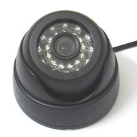 "Wholesale Ir Dome Camera Audio - HD 1 3"" 1000TVL Audio Security IR Color Dome Indoor CCTV Camera Mic, 1080p lens Audio Recording, Infrared Night Vision Vandal"