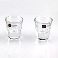 Wholesale Material Wholesalers China - Small Glass High White Material Thick Bottom Glass for Bullets Cup Party Celebration Holiday Household Goods 32ml 125g