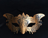 Barato Águia Dança-Retro Little Eagle Mask Halloween Role Play Masks Party Maquiagem Máscaras de dança G573