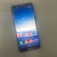 not 4g wifi akıllı telefon toptan satış-Unlocked 3G Akıllı telefon notu 8 6.3 Inç cep telefonları Note8 Android Sistemi Tam Ekran ile Sahte 4g wifi wifi Smartphone