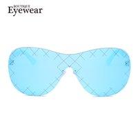 Wholesale Pops Boutique - Wholesale-BOUTIQUE NEW Women Brand Designer Men Metal Good Quality Pop Conjoined Lens oculos de sol