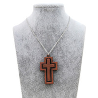 Original New Vintage Gold Rotatable Female Cross Choker Necklace Mulheres Jesus Crucifixo Cadeia de oração Colar Men Christian Male Jewelry Gift