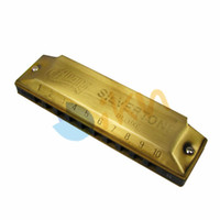 Wholesale Huang Harmonica Key - Wholesale- NEW Huang 10 Hole 20 Tone B Key Diatonic Blues Harmonica Mouth Ogan Musical Instrument