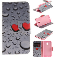 Wholesale Galaxy S3 Silicone Case Flip - For Galaxy S3 S4 S5 S6 S7 S8 Note 8 Case Advanced Luxury Painted Wallet Case Flip Stand Phone Case Retail Package