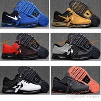 Wholesale Cheapest Basketball Sneakers - 2017 Cheapest Mens Sneakers Maxs Shoes KPU Men Running Shoes Women Sports Trainer AirCushion Surface Breathable Maxss Outdoor Shoes 36-47