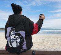 Wholesale Clown Jacket - New Cotton Male Parkas Winter Street Tide Clown Bread Cotton Padded Jacket Coat