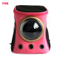 Wholesale Capsule Shape - 2017 Carrier for Cats Capsule Shaped Breathable Astronaut Backpack Dog Outside Travel Portable Women Cat Cartoon Bags Pet Supplies