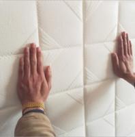 ingrosso carta da parati quadrata 3d-3D Stone Square Brick PE Foam Wallpaper Poster Wall Stickers Wall Decor Soggiorno Cucina Home Improvement