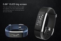 Vendono 1 braccialetto Smart ID115HR Plus IP67 dell'inseguitore di GPS di sport e Wristbands intelligenti impermeabili del monitor di sonno intelligente di telecomando