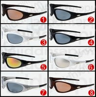 Wholesale Cheap Designer Free Shipping - Hot Cheap Sunglasses for Men and Women Outdoor Sport Cycling Sun Glass Eyewear Brand Designer Sunglasses Sun shades 8 colors free Shipping