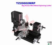 spinning lathe machine - DIY Big Power Mini Metal Spinning Lathe Machine TZ20002MRP With mm scale line for soft metal Free ship to Russia No Tax