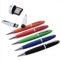 tipos de condensadores al por mayor-Pluma de escritura Samsung iphone4s teléfono móvil iPad tableta stylus pluma de doble función tipo u metal capacitor