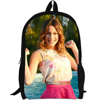 Wholesale Beautiful Sports Girls - Violetta backpack Lovely star daypack Beautiful girl schoolbag Teleplay rucksack Sport school bag Outdoor day pack