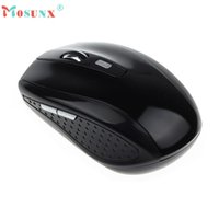 Wholesale Gaming Mouse Sale - Wholesale- Mosunx Advanced Wireless Mouse Hot sales gaming mouse For Computer PC Laptop Gamer Gifts Computer mouse Portable 2.4G 1PC