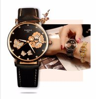 frauen armbanduhr marken großhandel-2017 Armbanduhr Frauen Damen Marke Berühmte Weibliche Armbanduhr Uhr Quarzuhr Mädchen Quarz-uhr Montre Femme Relogio Feminino