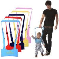 ingrosso i bambini imparano a camminare-Cintura da passeggio infantile Cinturino regolabile da guinzaglio Baby Learning Walking Assistant Fascia di protezione per imbracatura di sicurezza per bambini