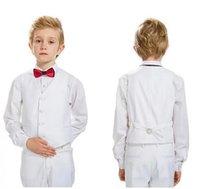 drei stück jungen kleid anzüge großhandel-Hochwertige junge anzug kinder hochzeit blumenmädchen kleid party party kleid junge set drei teilig.