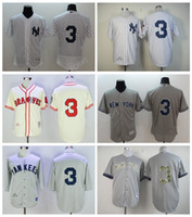 Men sport ruth - New York Yankees Babe Ruth Jersey Men Throwback Pinstripe White Gray Cream Babe Ruth Baseball Jerseys For Sport Fans