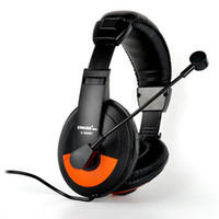 ingrosso grande microfono-Cuffie da gioco con microfono Wired Deep Bass Headset con microfono per Cumputer e PS4 per Obox One Big Earmuff Cover Ear PC earphone