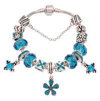 Wholesale Adorn Strands - Crystal bracelet accessories diy beads women's bracelet The European and American fashion drip bracelet adorn article