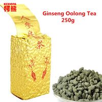 Wholesale Effective C - C-WL048 Promotion High Cost-effective 250g Ginseng Oolong Tea Fresh Natural Beauty Tea Chinese High Quality Oolong Tea
