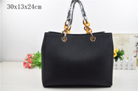 Wholesale New Arrivals Designer Handbags - New Arrival Women Handbag Fashion Shoulder Bag Casual Large Capacity Shopping Bag Embossing Designer PU Leather Tote Bag.