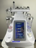 Wholesale Hydrafacial Skin - portable 6 in1 hydrafacial water peeling machine Hydro microdermabrasion ultrasonic skin care rejuvenation equipmnent BIO RF lifting