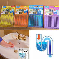 Wholesale Cleaning Pipes - Sani Stick Conduit Bathtub Sewer Decontamination Sticks Cleaning Keep Your Drain Pipes Toilet Bathtub Drain Cleaner Sewer Rod WX-C08