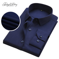 Wholesale Ds Shirt - Wholesale- Classical Formal Shirts Male High Quality Casual Full Sleeved Brand Business Men Social Dress Shirts Camisa Masculina DS-116