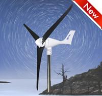 Wholesale Turbines Generators - Max850W Rated 600W 12V or 24V, Wind Turbine Generator Wind Mill, charge controller, Carbon fiber baldes, 3 phase permanent magnet alternator