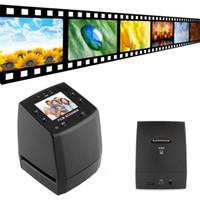 Wholesale 35mm Film Wholesale - EC717 5MP 35mm Negative Film Slide VIEWER Scanner USB Color Photo Copier Wholesale