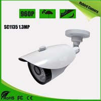 Wholesale High Resolution Ir Lens - 960P High Resolution Hybrid Camera support AHD CVI TVI CVBS 4 IN 1 mode with Fixed 3.6mm Lens 36pcs IR led Waterproof camera AS-MHD8301N2