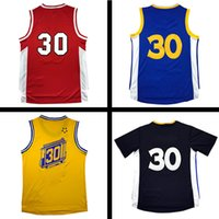 Wholesale Color White Jersey Basketball - #30Men Sport Jersey,New Material Rev 30 Basketball jersey,17 color Jersey, men sports basketball jerseys Size:S-XXL Mix order