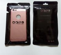 s2 için çanta toptan satış-Fermuar 21 * 12 Plastik Perakende Paketi PVC Mat Çanta Univeral 5.5 inç Cep Telefonu Kılıfı Için Samsung Galaxy S2 S3 S4 S5 iphone