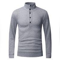 Wholesale Turtleneck Zipper Male - Wholesale- Pure Sweaters Men Style Turtleneck Mens Sweaters 2016 Brand Pullover Male Slim Fit Autumn Winter Plus Size Knitwear Clothing