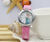 Wholesale Little Girls Fashion Belts - Ke purple children's watches primary school students cartoon cute little girls table special on behalf of the wholesale child watch