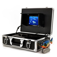 Wholesale Underwater Monitoring - 50m Deep Water Underwater Fishing Camera 7 Inch LCD Monitor Video Color Fish Finder