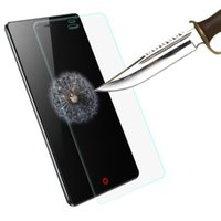 Wholesale Cases For L3 - Wholesale- 0.26mm 9H Tempered Glass Screen Protector film For ZTE Nubia Z7 Z9 Mini Blade X3 X5 X7 D6 V6 L2 L3 Grand 2 S291 Protective Films