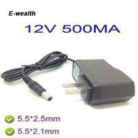 Wholesale 5v 12v Converter 1a - AC 100V-240V Converter Adapter DC 12V 1A   9V 1A   5V 2A   12V 500mA Power Supply US plug ( 50PCS 100PCS free Express shipping )